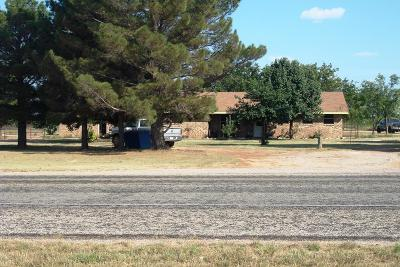 Robert Lee Single Family Home For Sale: 9009 W Hwy 158