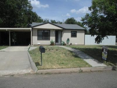 San Angelo Single Family Home For Sale: 202 Montague Ave