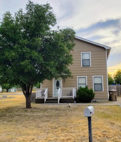 San Angelo TX Single Family Home For Sale: $120,000