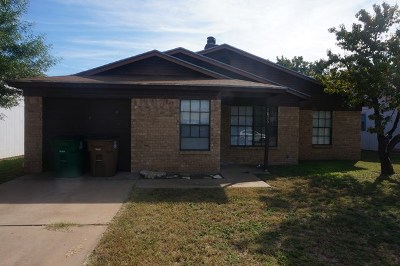 San Angelo, Wall, Christoval Rental For Rent: 1826 High Butte Dr