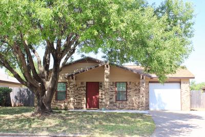San Angelo, Wall, Christoval Rental For Rent: 1417 Gregory Dr