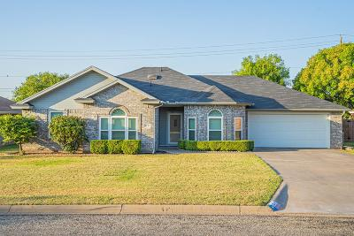 San Angelo TX Single Family Home For Sale: $197,500