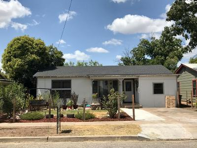 San Angelo TX Single Family Home For Sale: $92,900