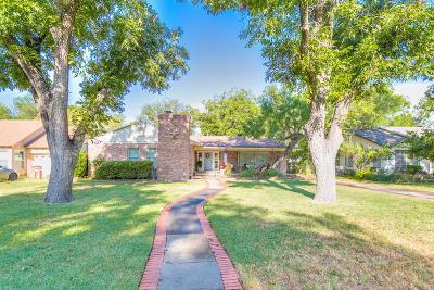 San Angelo TX Single Family Home For Sale: $285,000