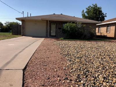 San Angelo Single Family Home For Sale: 109 W 14th St