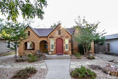 San Angelo Single Family Home For Sale: 1520 S Jackson St