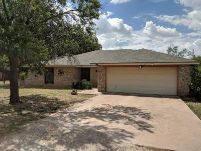 San Angelo Single Family Home For Sale: 9917 Cottontail Lane
