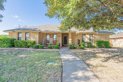 San Angelo Single Family Home For Sale: 3501 Cedar Ridge Lane