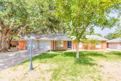 San Angelo Single Family Home For Sale: 2614 Hemlock Dr