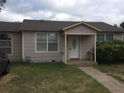 San Angelo TX Single Family Home For Sale: $82,000