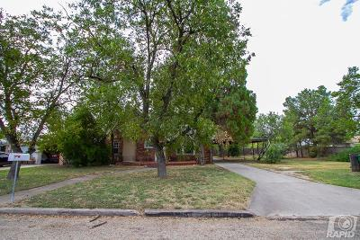 San Angelo Single Family Home For Sale: 1815 Webster Ave