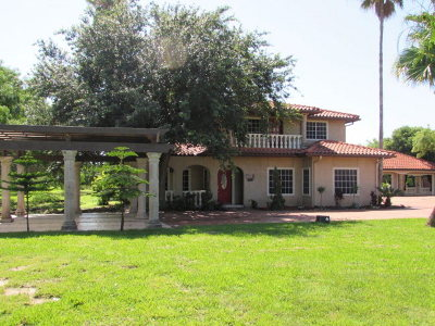 Los Fresnos, Bayview, Brownsville, San Benito Single Family Home For Sale: 34332 Island Estates