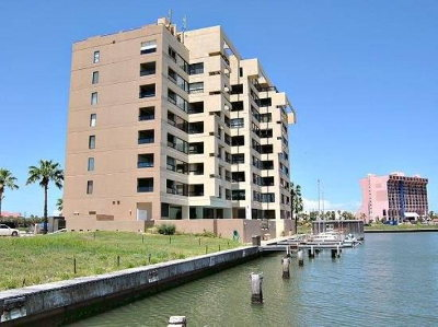 South Padre Island Condo/Townhouse For Sale: 6403 Padre Blvd. #23