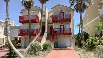 South Padre Island Condo/Townhouse For Sale: 123 E Parade #A