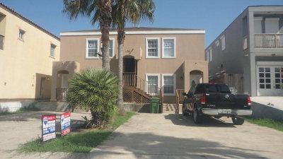 South Padre Island Condo/Townhouse For Sale: 108 E Retama St. #1