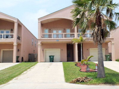 South Padre Island Rental For Rent: 106a E Aries Dr. #A