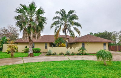 Los Fresnos Single Family Home For Sale: 39626 Palm Dr