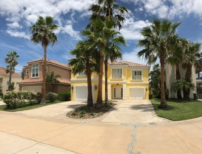 South Padre Island TX Single Family Home For Sale: $565,000