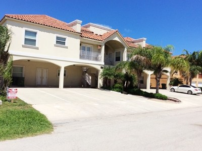 South Padre Island Condo/Townhouse For Sale: 102 E Gardenia St. #1 &