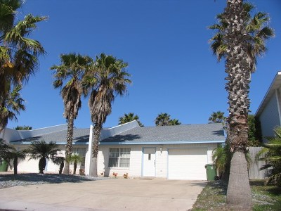 South Padre Island Condo/Townhouse For Sale: 112 E Constellation Dr. #A