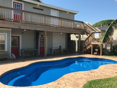 South Padre Island Multi Family Home For Sale: 102 E Atol St.