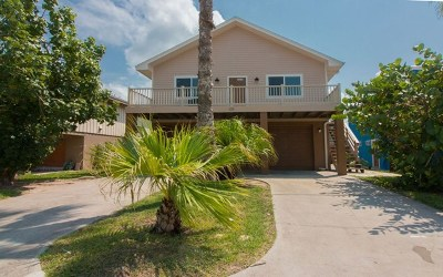 South Padre Island Single Family Home For Sale: 123 E Hibiscus St.