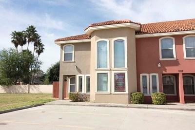 McAllen Condo/Townhouse For Sale: 3012 S K Center St. #1