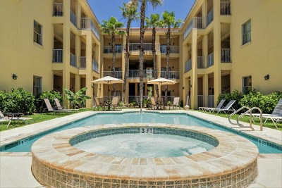 South Padre Island Condo/Townhouse For Sale: 6410 Padre Blvd. #101
