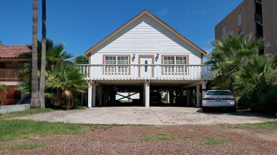 South Padre Island Single Family Home For Sale: 112 E Tarpon Street