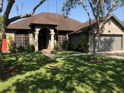 Los Fresnos Single Family Home For Sale: 622 Bougainvilla Dr.