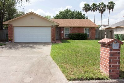Brownsville Single Family Home For Sale: 1524 N Sunshine Rd.