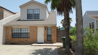 South Padre Island Condo/Townhouse For Sale: 123 E Atol St. #A