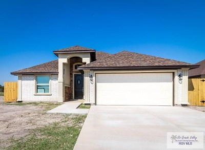 Brownsville Single Family Home For Sale: 7186 Lago Vista Blvd.