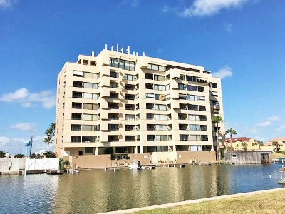 South Padre Island Condo/Townhouse For Sale: 6403 Padre Blvd.