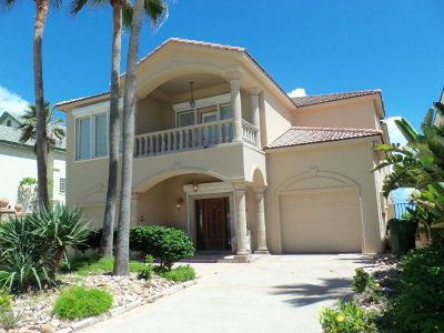 South Padre Island Single Family Home For Sale: 6416 Beach Drive