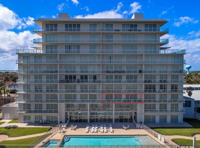 South Padre Island Condo/Townhouse For Sale: 3504 Gulf Blvd. #3C
