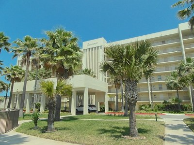 South Padre Island Condo/Townhouse For Sale: 900 Padre Blvd. #108