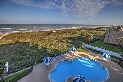 South Padre Island Condo/Townhouse For Sale: 1816 Gulf Blvd. #608