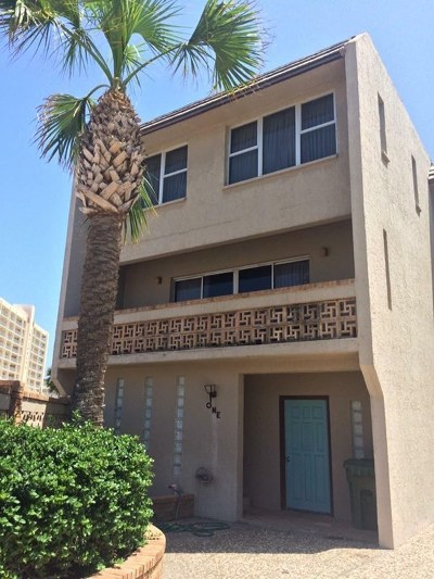 South Padre Island Condo/Townhouse For Sale: 5801 Gulf Blvd. #1