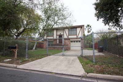 Brownsville Single Family Home For Sale: 3425 Hackberry Ln.