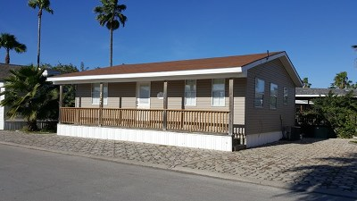 Port Isabel Single Family Home For Sale: 277 Sand Dollar