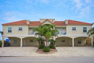 South Padre Island Condo/Townhouse For Sale: 102 E Gardenia St. #1