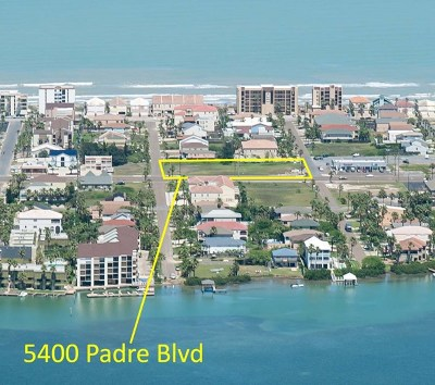 South Padre Island Residential Lots & Land For Sale: 5400 Padre Blvd.