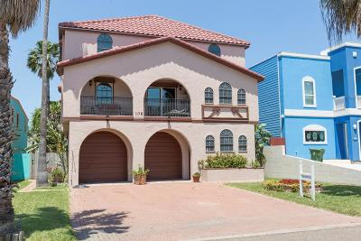 South Padre Island TX Single Family Home For Sale: $485,000