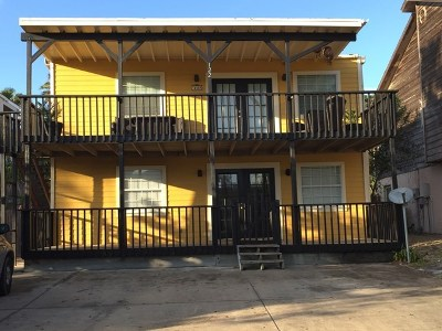 South Padre Island Multi Family Home For Sale: 122 E Huisache St.