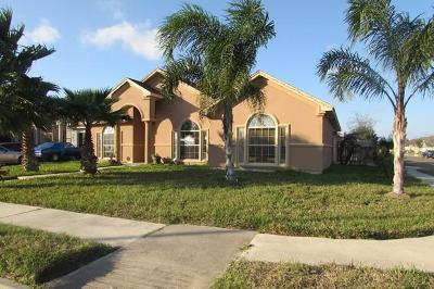 Brownsville Single Family Home For Sale: 6791 Tenaza Dr.