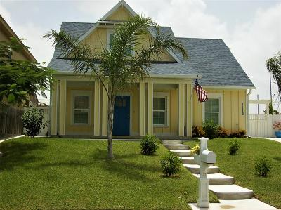 Bayview, Laguna Heights, Laguna Vista, Port Isabel, South Padre Island Single Family Home For Sale: 1113 Pompano Ave.