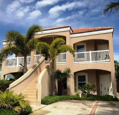 South Padre Island Condo/Townhouse For Sale: 122 E Bahama St. #3