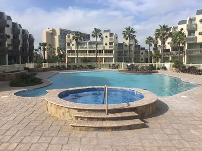 South Padre Island Condo/Townhouse For Sale: 6300 Padre Blvd. #215