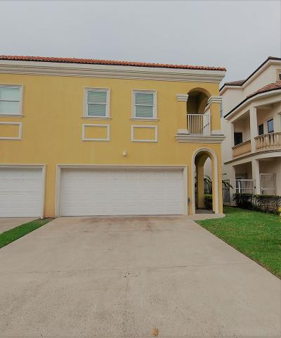 South Padre Island Condo/Townhouse For Sale: 6507 Fountain Way